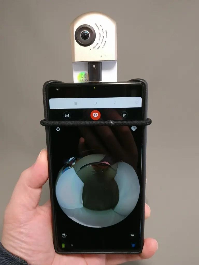 HIGOLE GOLE360 Panorama VR アクションカメラ 変換アダプタ いじくりだす