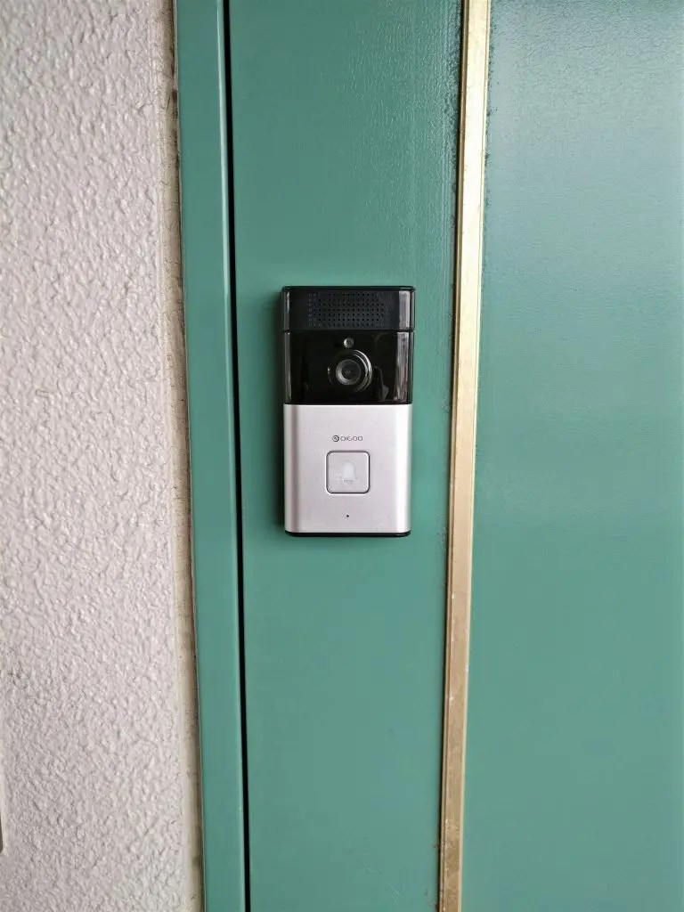 Digoo SB-XYZ ドアベル ドアに設置
