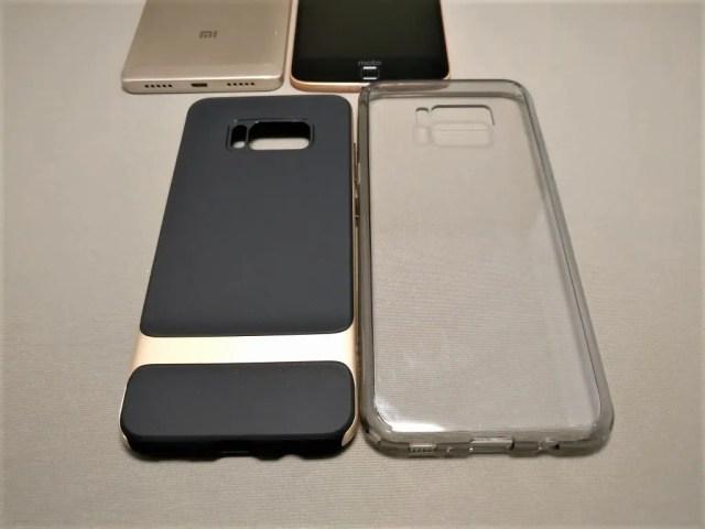 Galaxy S8 S8+ ケース 裏