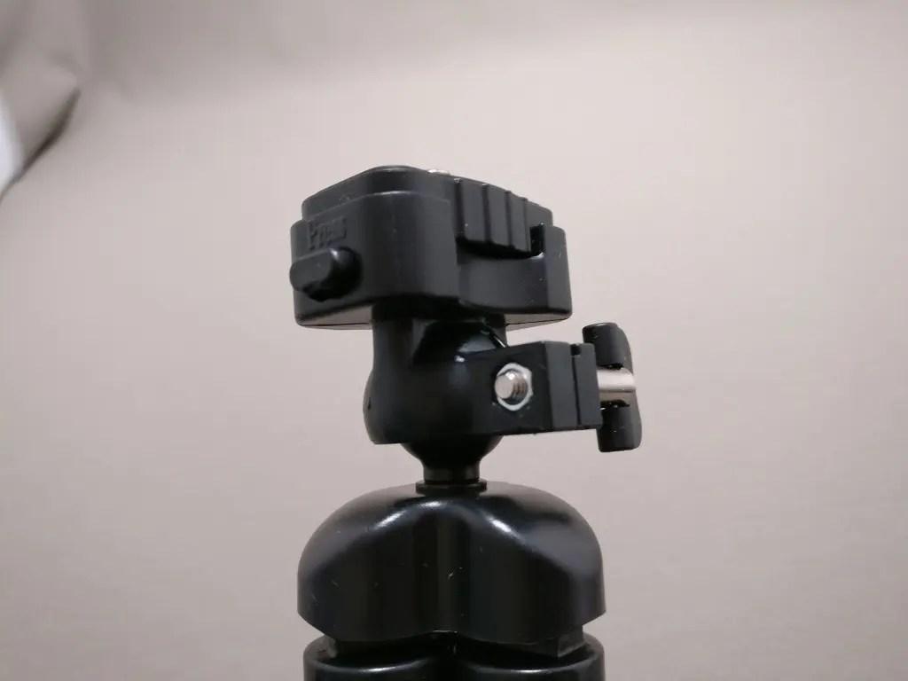 AUKEY スマートフォンホルダー+三脚 CP-T03 雲台ななめ横