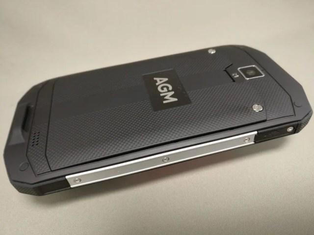 AGM A8  側面金属プレート