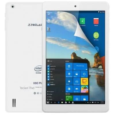 Teclast X80 Plus Atom Cherry Trail x5-Z8300 1.44GHz 4コア,Atom Cherry Trail X5 Z8350 1.44GHz 4コア