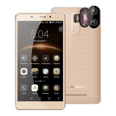 gearbest Leagoo M8 Pro MTK6737 1.3GHz 4コア CHAMPAGNE GOLD(シャンペンゴールド)