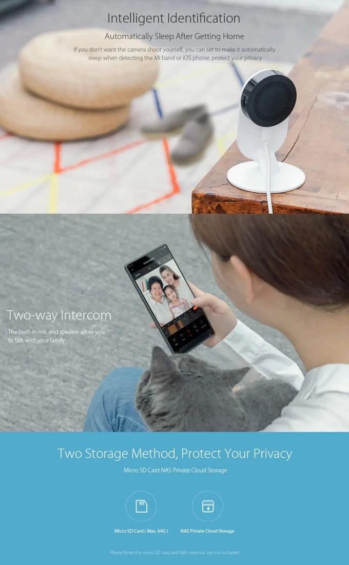 Xiaomi 1080P IPカメラ 3
