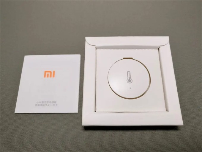 Xiaomi mijia スマートホームセキュリティキット 湿温度計