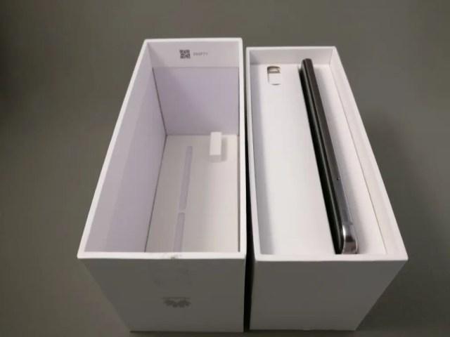 Huawei Nova 化粧箱 開ける