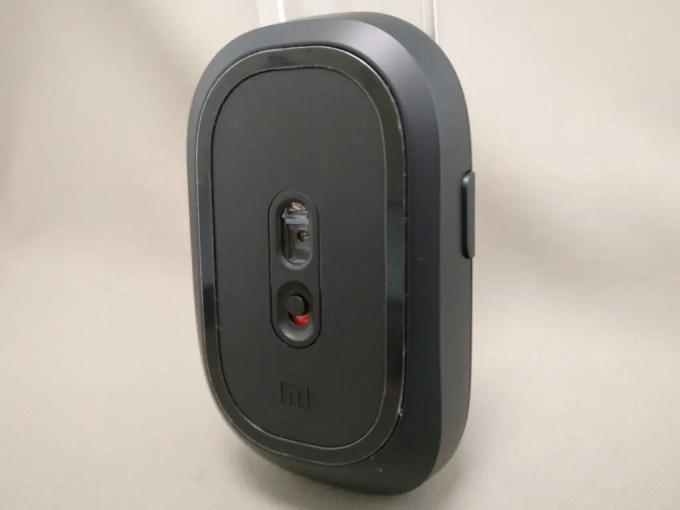 XIAOMI 1200DPI 2.4GHz 4 Buttons Wireless Optical Mouse For PC Laptop 立て裏 ななめ
