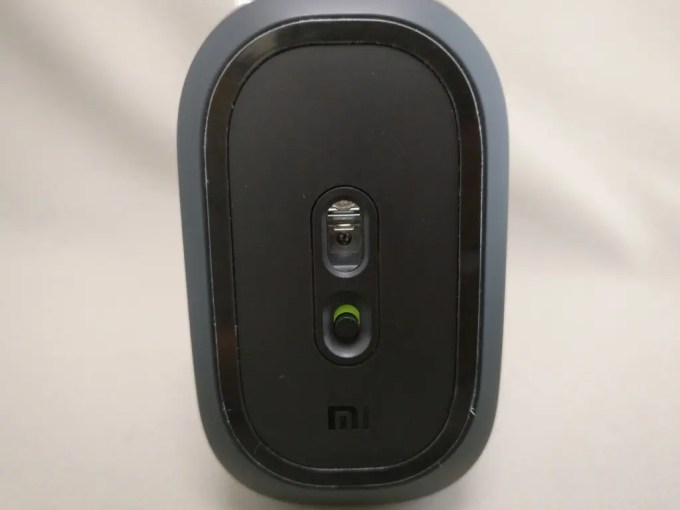 XIAOMI 1200DPI 2.4GHz 4 Buttons Wireless Optical Mouse For PC Laptop 立て裏  オン