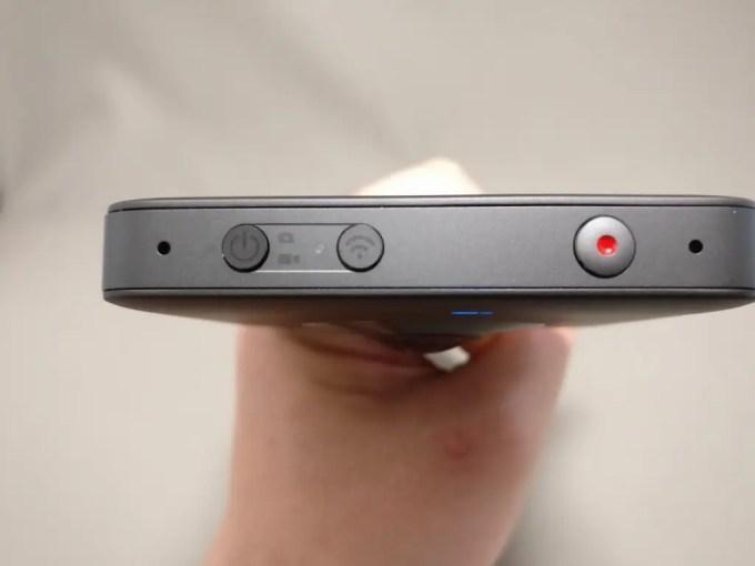Xiaomi mijia 3.5K Panorama Action Camera 3つのボタン