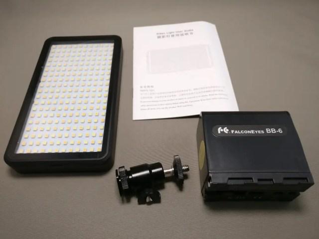 Andoer LEDビデオライト セット