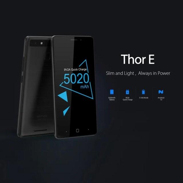 Vernee Thor E  E-inkディスプレイ
