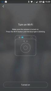 Mi Sphere Cameraアプリ ペアリング