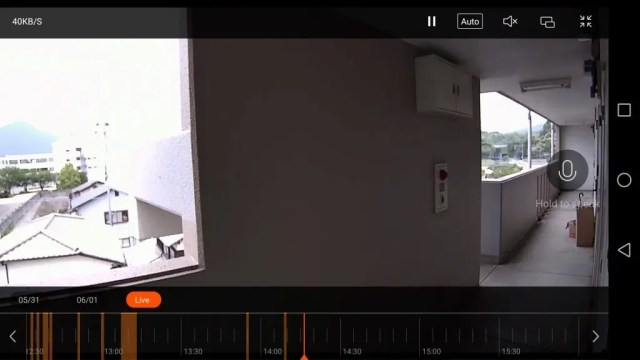 Xiaomi 1080P IPカメラ MicroSD刺す2