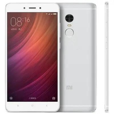 gearbest Xiaomi Redmi Note 4 MTK6797 Helio X20 2.1GHz 10コア SILVER(シルバー)