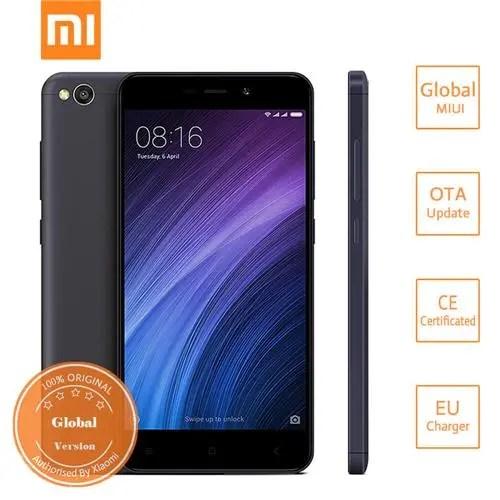 geekbuying Xiaomi Redmi 4A Snapdragon 425 MSM8917 1.4GHz 4コア BLACK(ブラック)