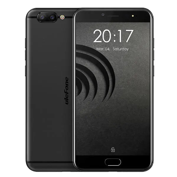 banggood Ulefone Gemini Pro MTK6797X Helio X27 2.6GHz 10コア BLACK(ブラック)