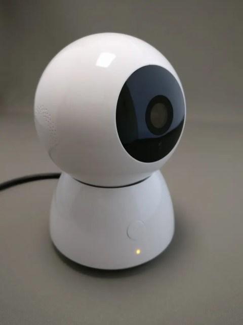 Xiaomi 360度パノラマ1080P IPカメラ 電源入れる