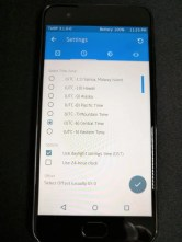 TWRP 設定 タイムゾーン