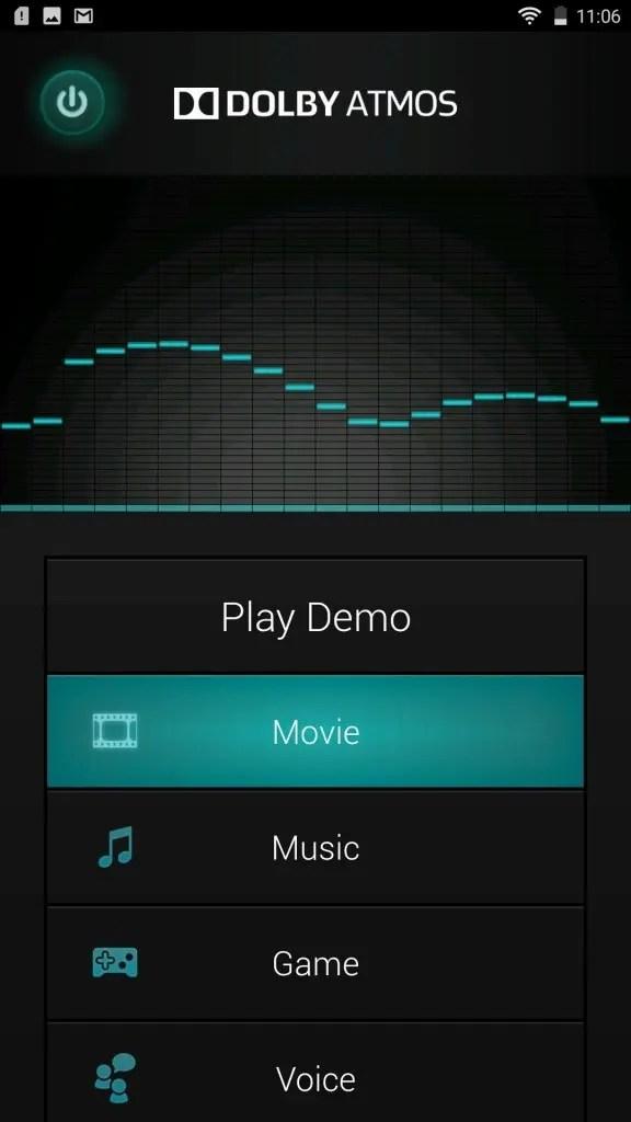 LENOVO Phab 2 Plus アプリ Dolbe ATMOS 2
