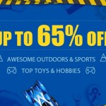 【GearBest】アウトドア&オモチャ最大65%Offセール+デイリークーポン大量
