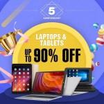 【GeekBuying】5周年記念セール 第二弾 中華タブレット・ラップトップ 最大90%オフ!