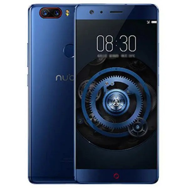 banggood ZTE Nubia Z17 Snapdragon 835 MSM8998 2.35GHz 8コア BLUE(ブルー)