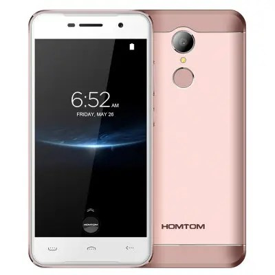 gearbest Homtom HT37 Pro MTK6737 1.3GHz 4コア ROSE GOLD(ローズゴールド)