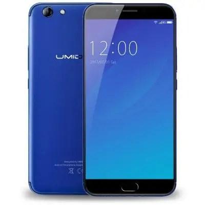 gearbest UMIDIGI C NOTE 2 MTK6750T 1.5GHz 8コア BLUE(ブルー)