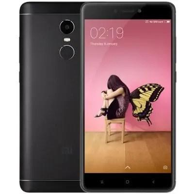 gearbest Xiaomi Redmi Note 4X Snapdragon 625 MSM8953 2.0GHz 8コア BLACK(ブラック)
