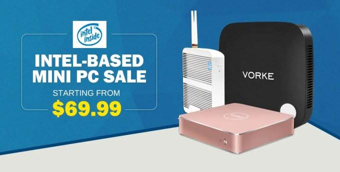 GeekBuying Intel入ってるMini PC セール
