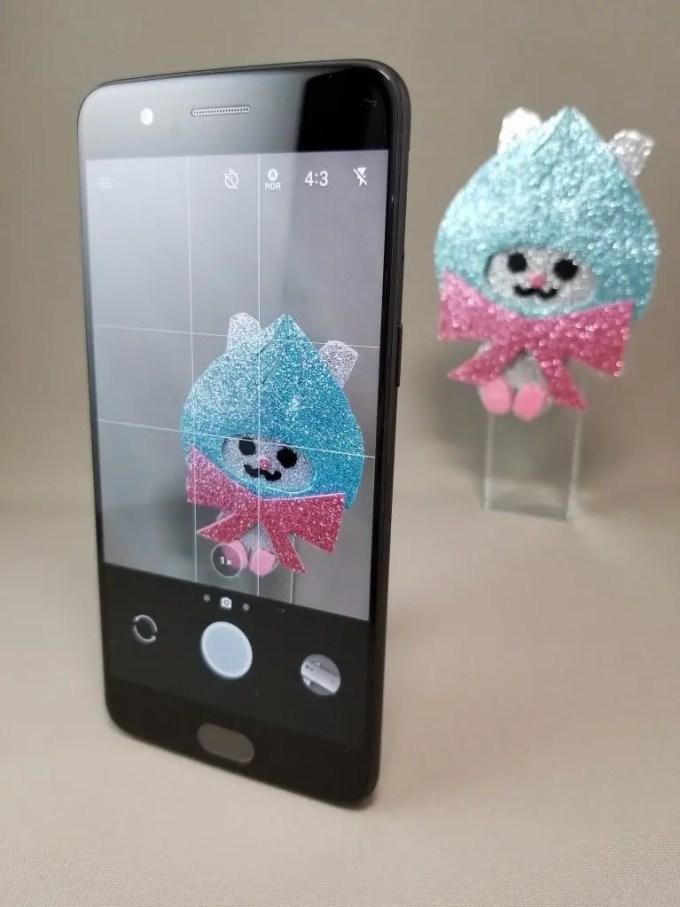 OnePlus5 シャッター音