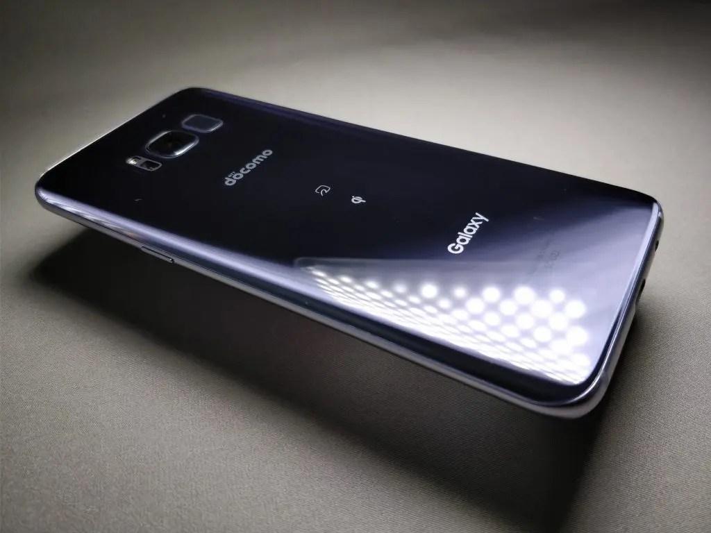 Galaxy S8 SC-02J 開封の儀 レビュー