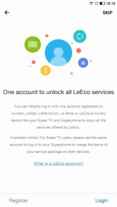 LeEco Le Pro3 Elite 初期設定