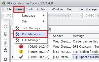 QTool View Port Manager