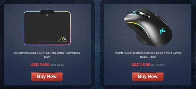 ACGAM P09 Gaming Mouse