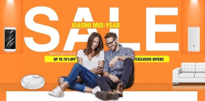GeekBuying Xiaomi MID-YEAR セール