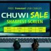 【GeekBuying】CHUWI ブランドセール Apollo Lake N3450機2機種数量限定