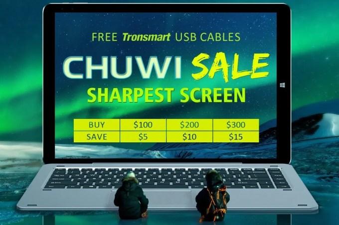 GeekBuying CHUWI ブランドセール