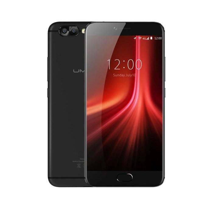 banggood UMIDIGI Z1 Pro MTK6757 Helio P20 2.3GHz 8コア BLACK(ブラック)