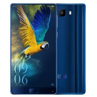 gearbest Elephone S8 MTK6797 Helio X25 2.5GHz 10コア BLUE(ブルー)