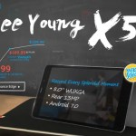 【GearBest 独占販売】8inchファブレット ALLDOCUBE CUBE Free Young X5 日5台限定$79.99~6日まで