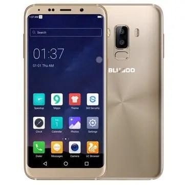 banggood Bluboo S8 MTK6750T 1.5GHz 8コア GOLD(ゴールド)