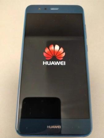 Huawei P10 Lite 起動9