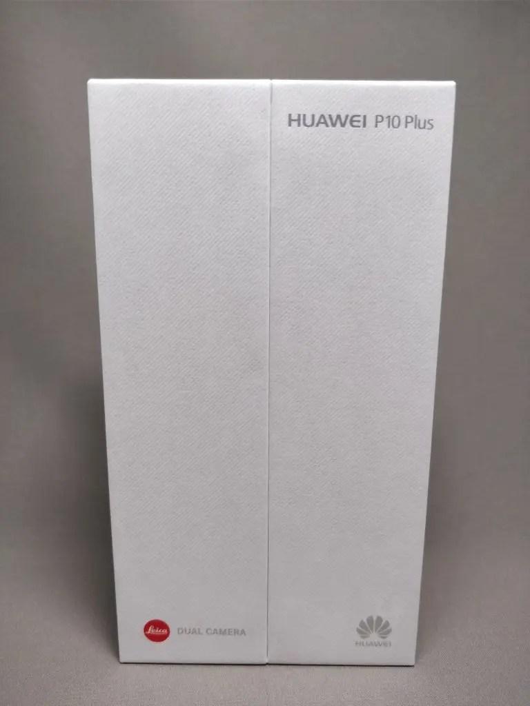 Huawei P10 Plus 化粧箱 表