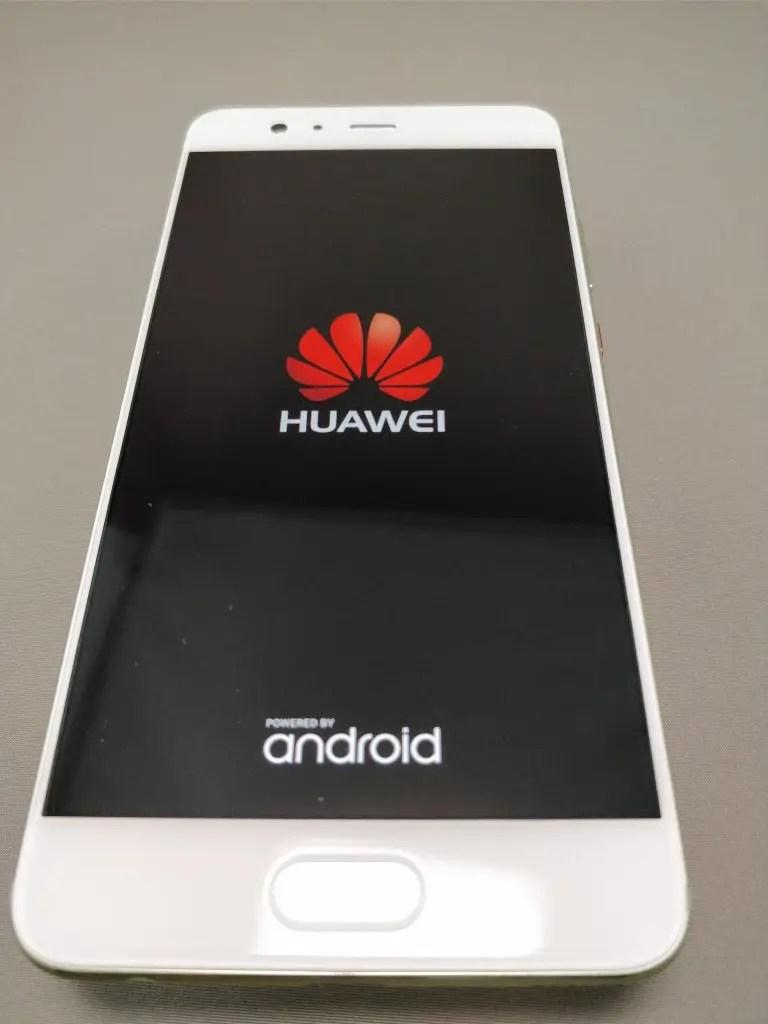 Huawei P10 Plus 起動1