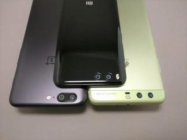Huawei P10 Plus 他機種とサイズ比較 8