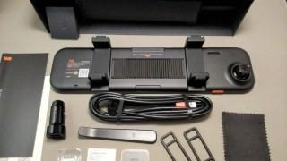 【車載】Xiaomi 70 Steps Smart ルームミラー 開封 レビュー コレ・・・中国大陸でしか使えないブツだった(泣)
