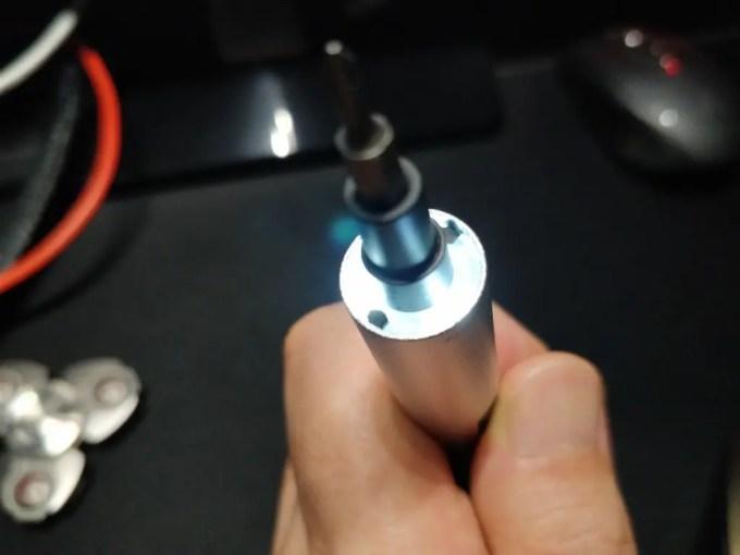 Xiaomi WOWSTICK 1fs 精密電動ドライバー LEDライト 4