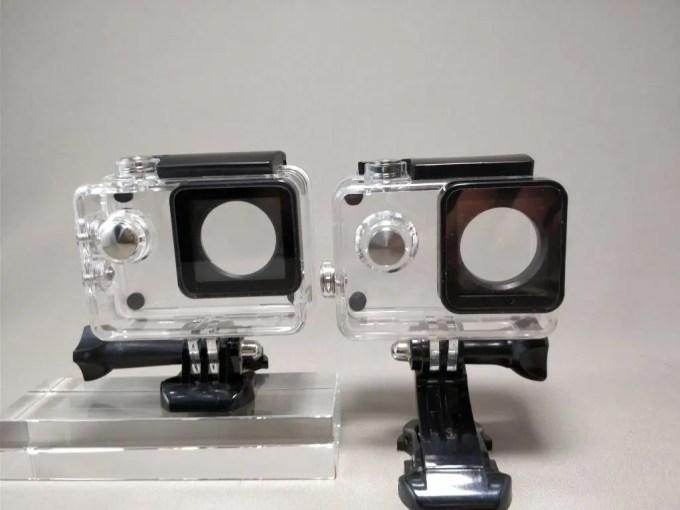 Aukeyアクションカメラと比較 防水ハウジング 3