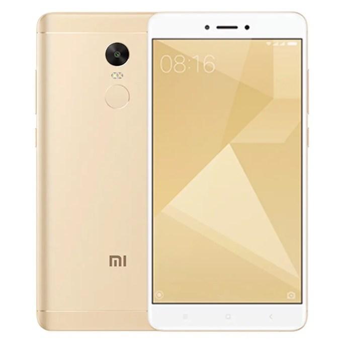 tomtop Xiaomi Redmi Note 4X Snapdragon 625 MSM8953 2.0GHz 8コア GOLD(ゴールド)